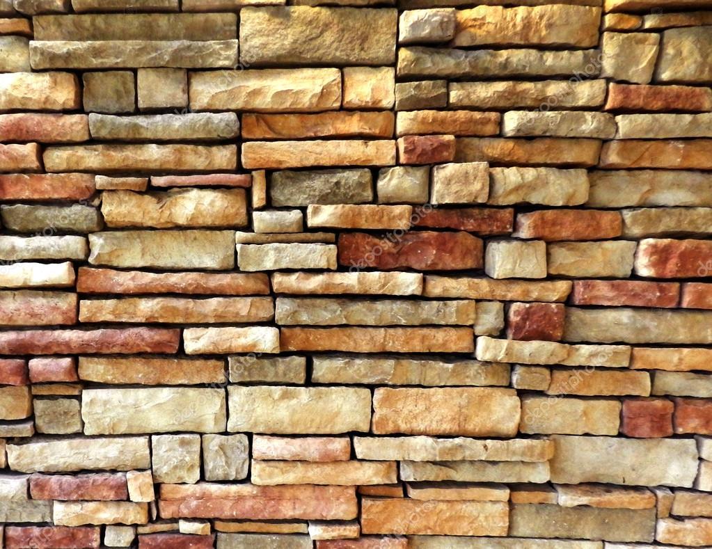 Fond De Texture Mur Brique Extérieur Coloré U2014 Photo