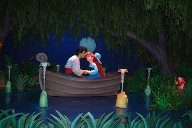 Ariel and Eric Kissing - Magic Kingdom Walt Disney World