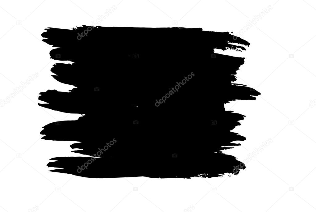 vector figured brush strokes stock vector arybickii 115704406 rh depositphotos com vector brush strokes svg vector paint brush strokes