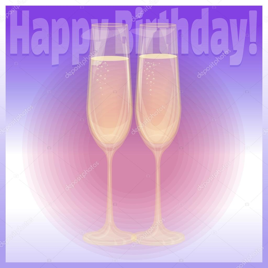Happy Birthday Anstoßen
