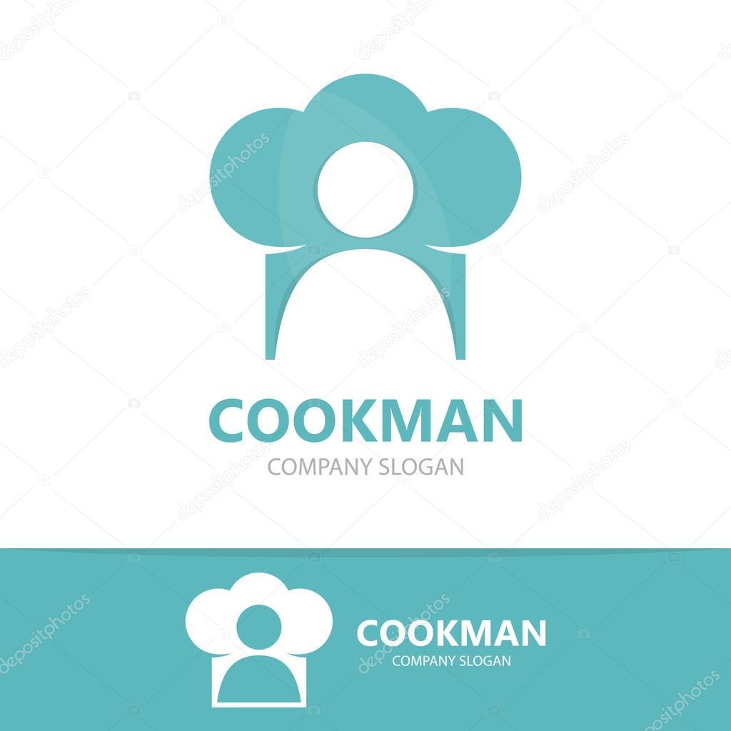 Chef vectores y cocina plantilla de diseño de logo — Archivo ...
