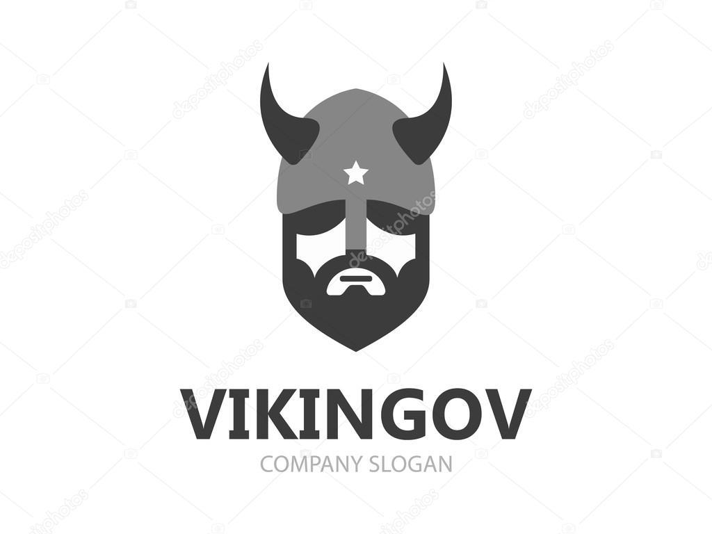 Viking head logo vector design head of warrior symbol or icon head of warrior symbol or icon stock vector biocorpaavc Gallery