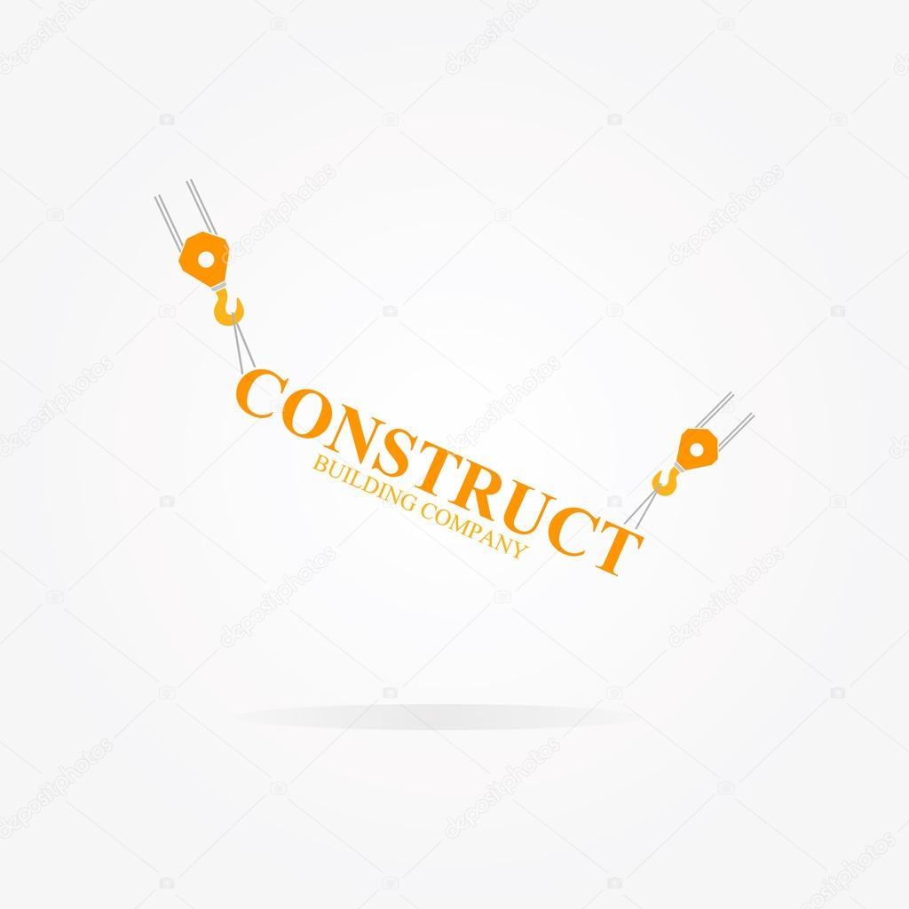 Crane logo for construction company stock vector lifeking83 vector logo design element with business card template vector by lifeking83 colourmoves