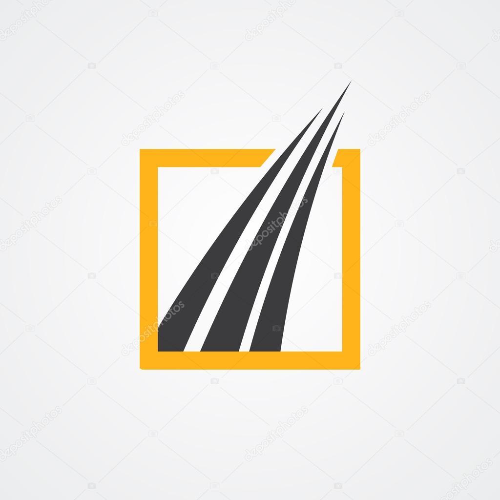 Logo para las empresas de contabilidad y finanzas — Archivo Imágenes ...