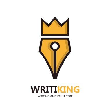 King pen icon or logo