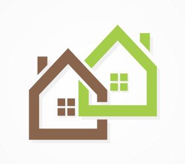 Vector real estate logo