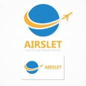 Fényképek Logo kombinációja a világon, és a repülőgép