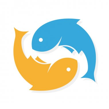 Download Double Fish Symbol Free Vector Eps Cdr Ai Svg Vector Illustration Graphic Art