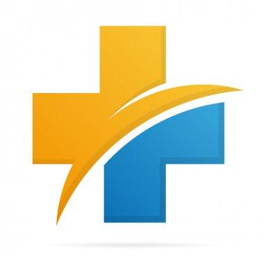 Hospital and medica logo