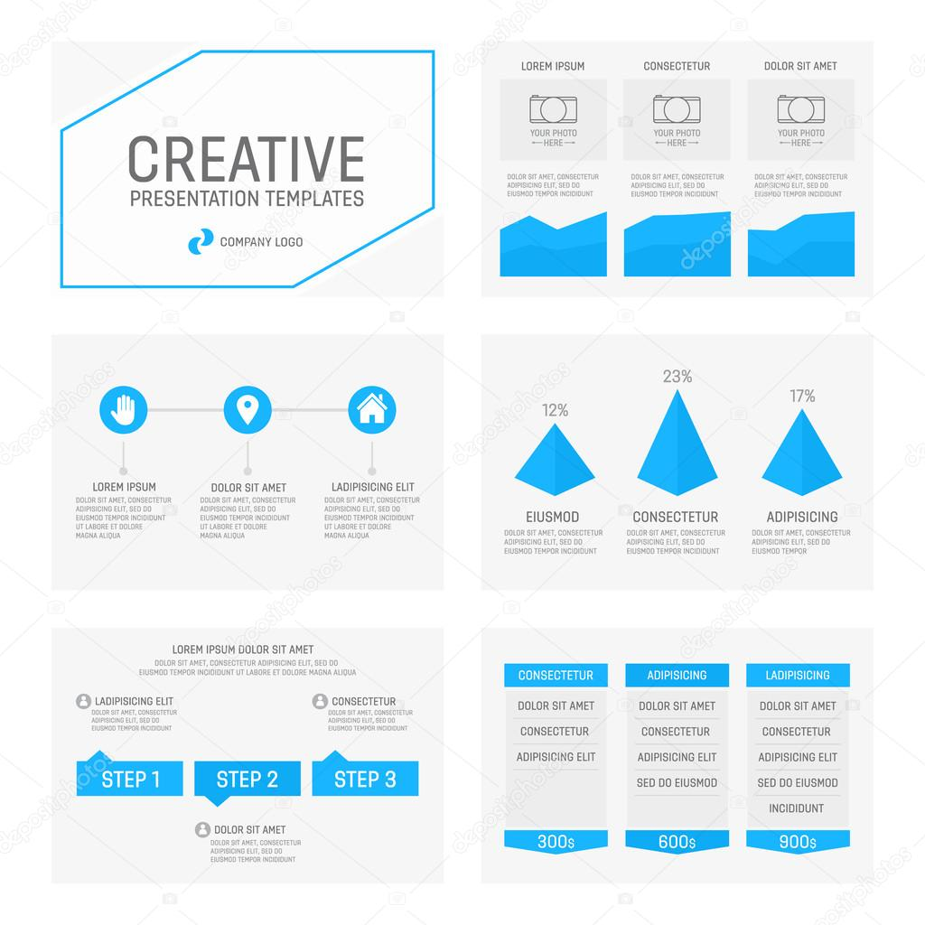 Vector template for multipurpose presentation slides with graphs and vector template for multipurpose presentation slides with graphs and charts infographic element and symbol icon toneelgroepblik Image collections