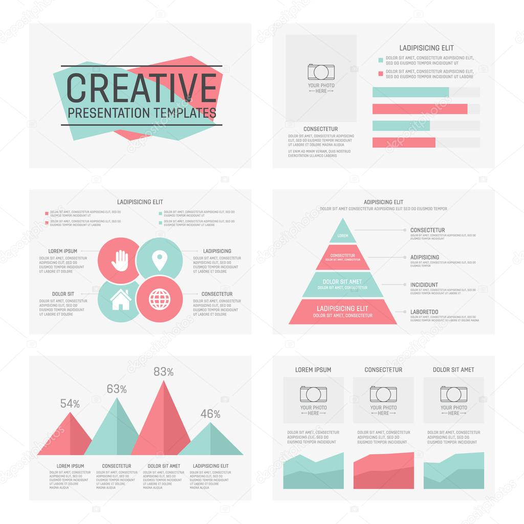 Vector template for multipurpose presentation slides with graphs and vector template for presentation slides with graphs and charts vector by lifeking83 find similar images toneelgroepblik Image collections