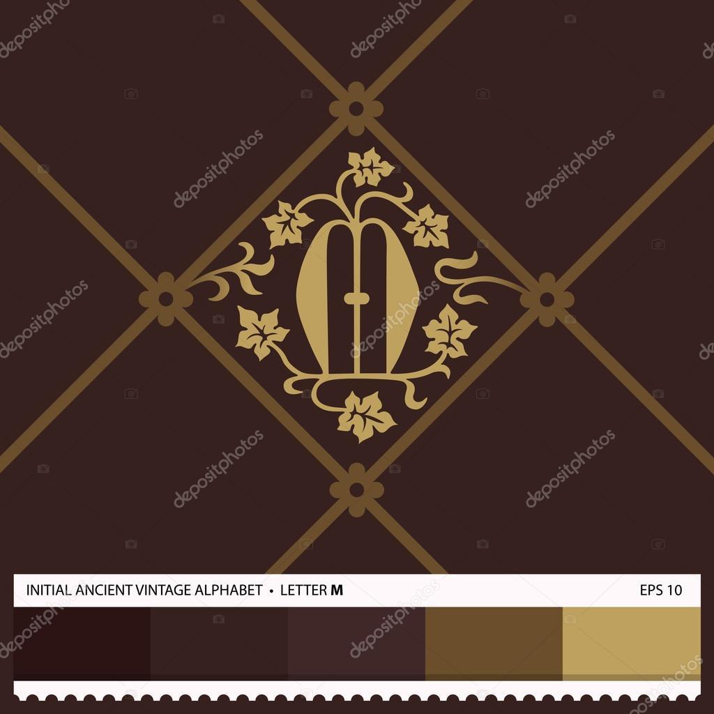 Letter M Hand Drawn Stock Vector Wbbstock 61005165