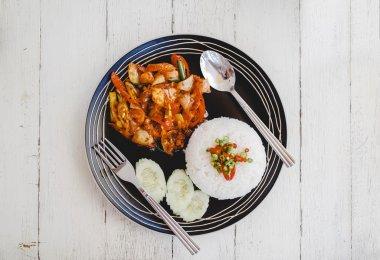 Traditional tasty thai food