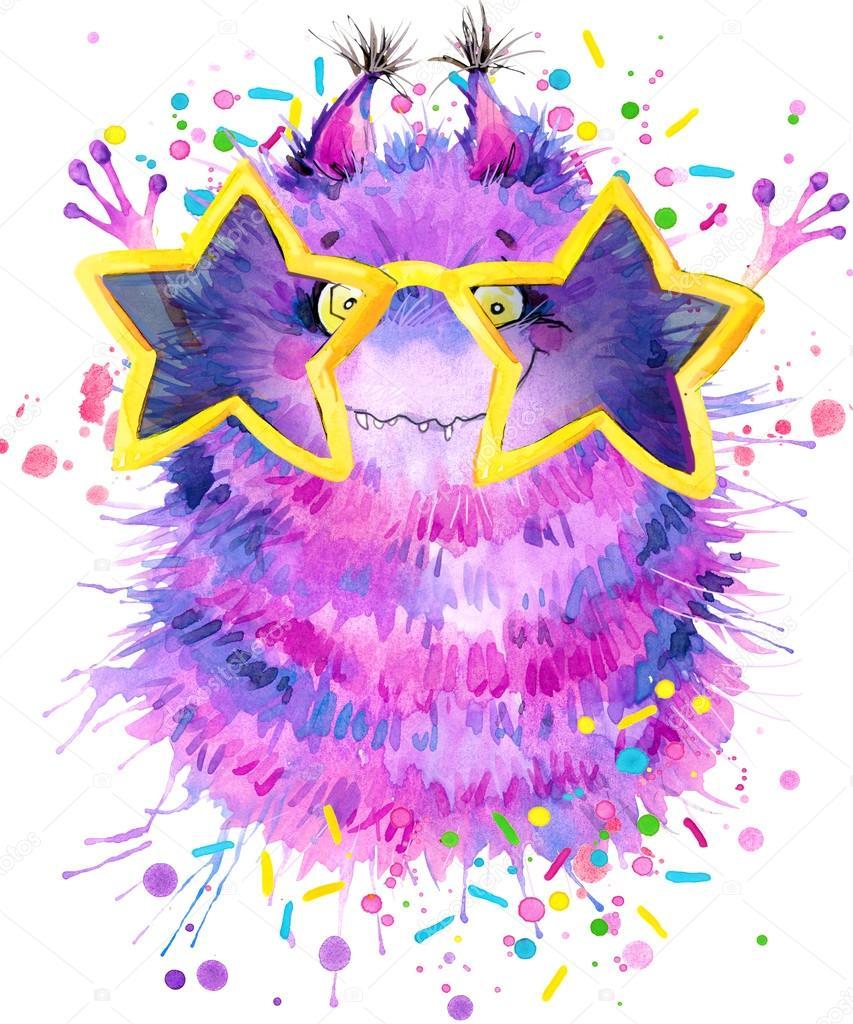 Shirt design card - Monster T Shirt Design Cartoon Monster Birthday Card Cute Monster