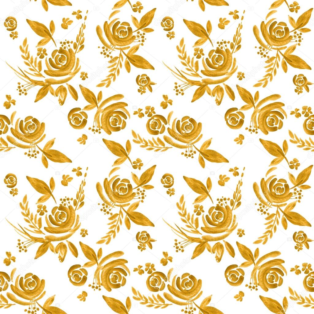 To acquire Flower gold background pictures trends