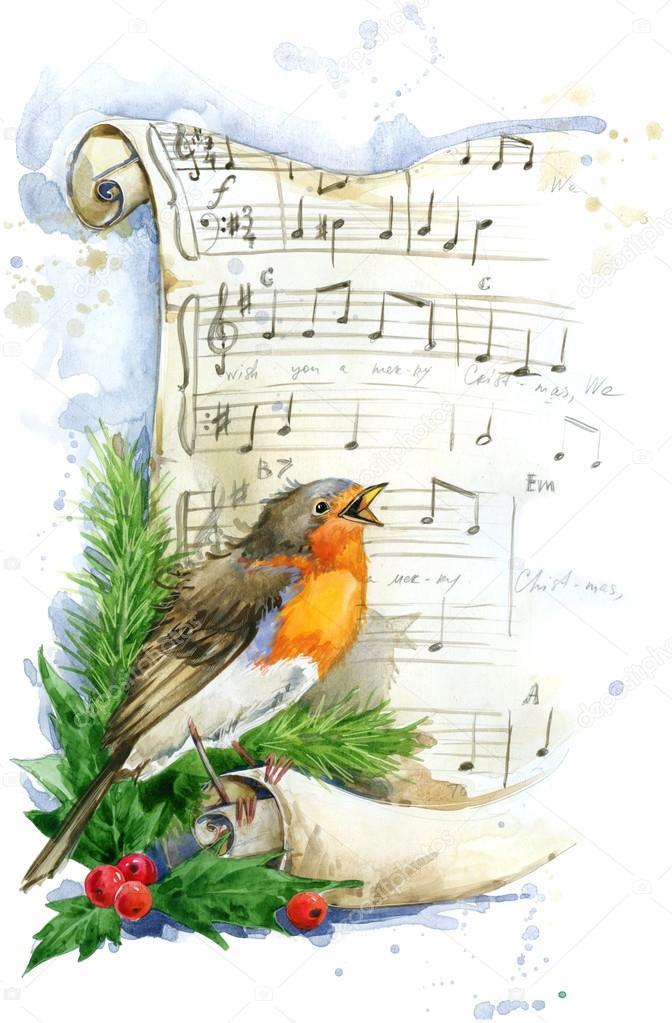 Смотреть Птица на Новый год видео