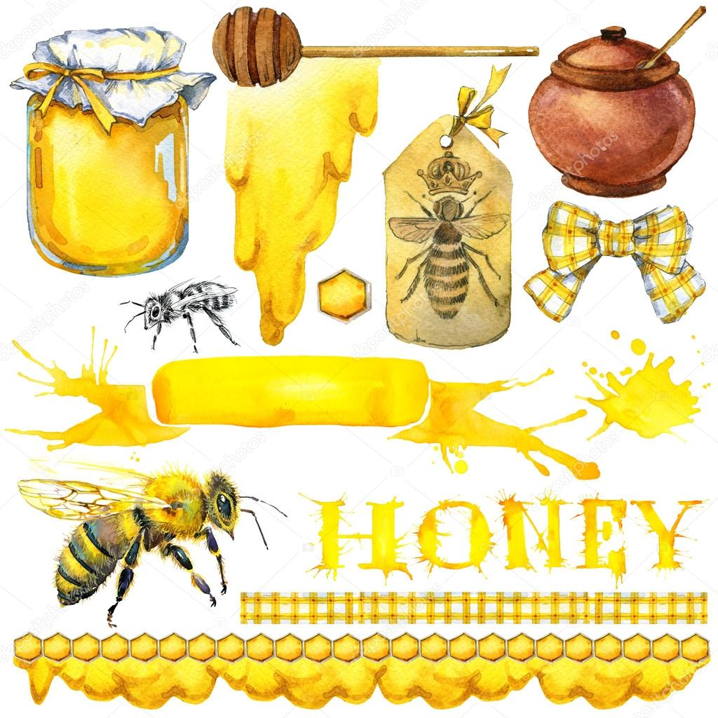 Фото мед соты