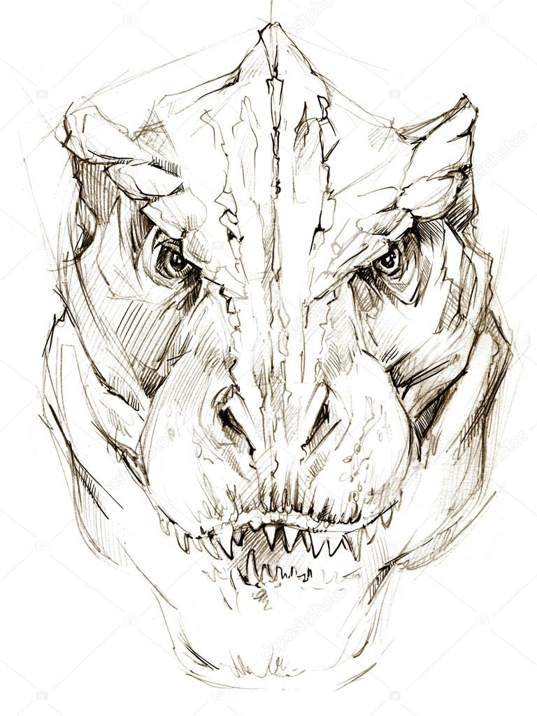 Dibujos A Lapiz De Angeles Dinosaurio Dibujo A Lápiz Dibujo