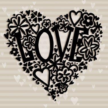 Valentines day card. Valentine day background. Wedding invitation design. Valentines day hand drawing art.  Valentines day heart. Valentine day card.