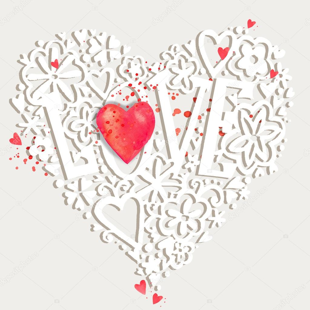 Valentines day card valentine day background wedding invitation valentines day card valentine day background wedding invitation design valentines day hand drawing stopboris Image collections