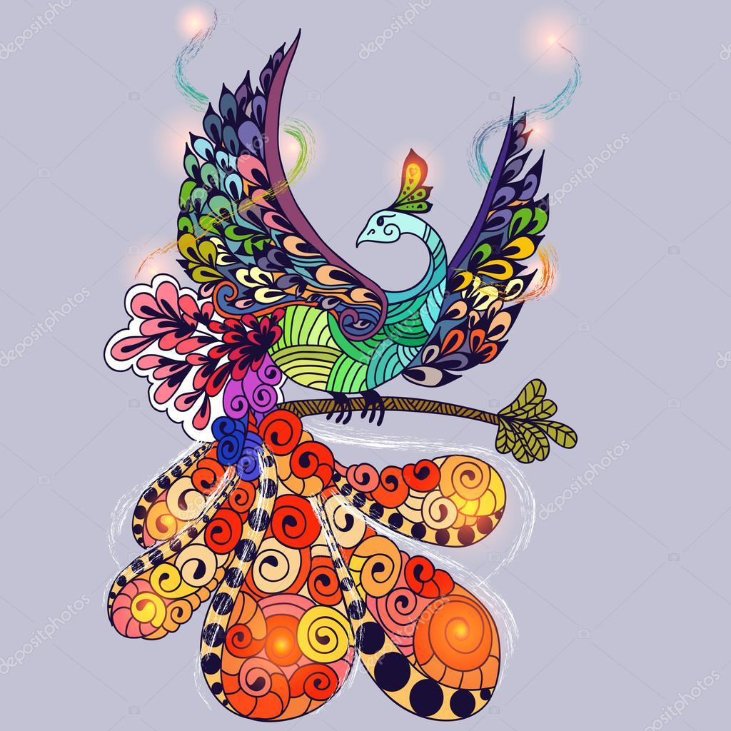 Bird Phoenix magic