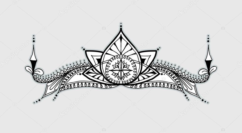 thedarlingbakers schwarz weiss tattoo vorlagen blumen