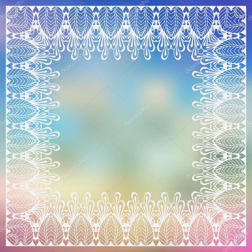 Carto de flores mehndy vetor de stock xarlyxa 66335379 ornate vector border template in indian mehndi style hand drawn abstract background invitation cards with mehndi elements vetor por xarlyxa stopboris Images