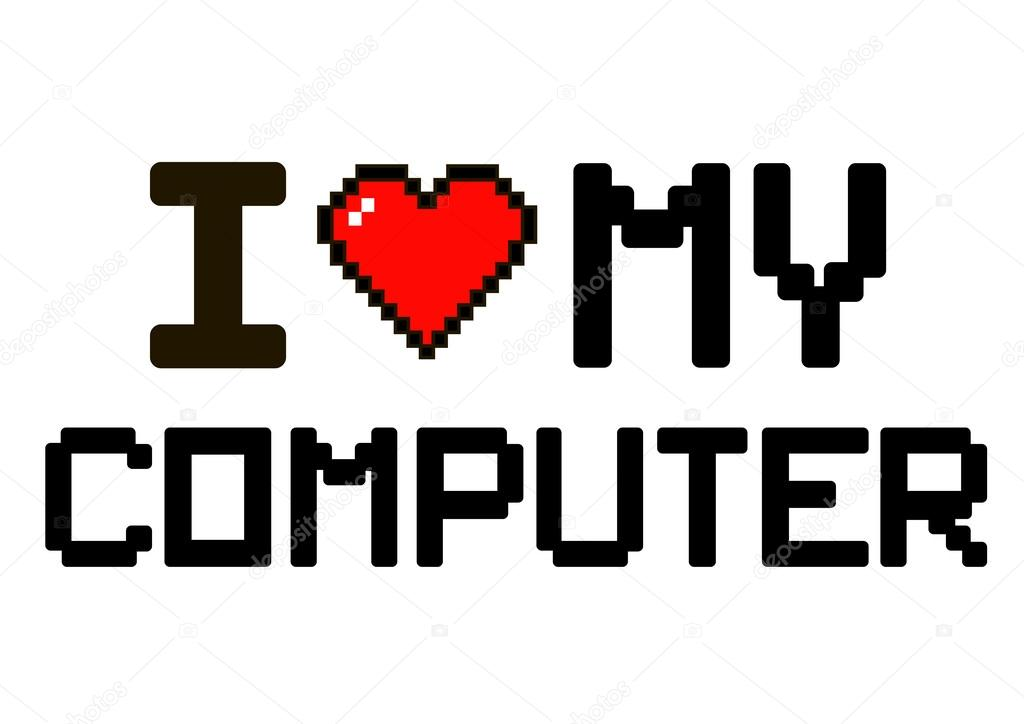 Картинка люблю информатику