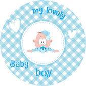 Fényképek Aranyos kis baba mintás