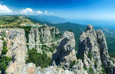 Bridge over the precipice