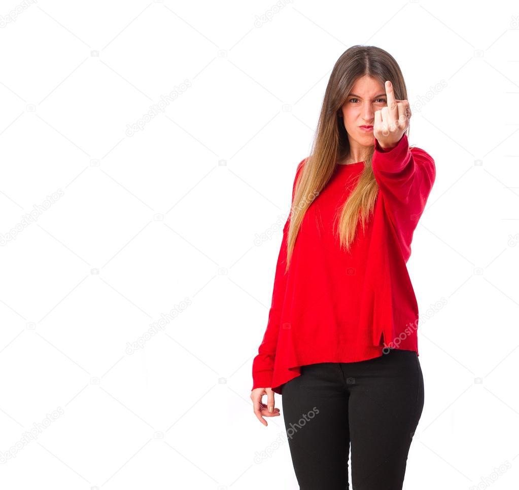 Coole Mädchen Uneinigkeit Stockfoto Kues 62183333