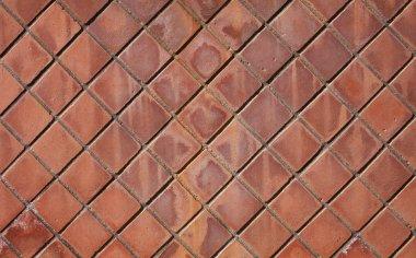 ceramic square tiled floor