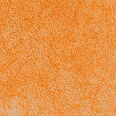 orange leather abstract background or texture