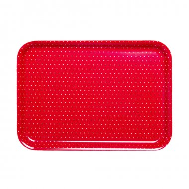 dotted tray