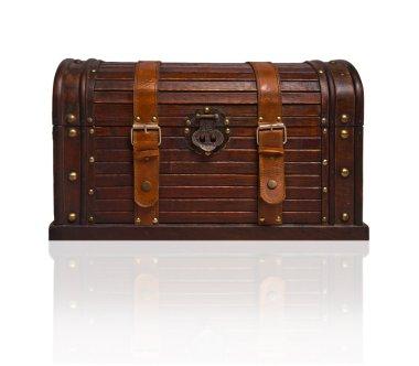 Old treasure chest stock vector