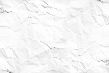 white wrinkled paper texture