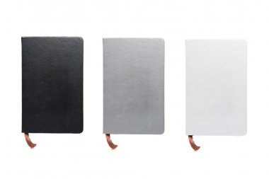 Three notebooks