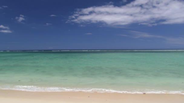 Nézd, hogy az Indiai-óceánra és a gyönyörű homokos tengerparttól, a sziget Mauritius.