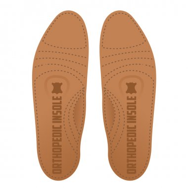 Flat Vector Illustration orthopedic insole