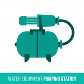 Fotografie vector flat icon water equipment