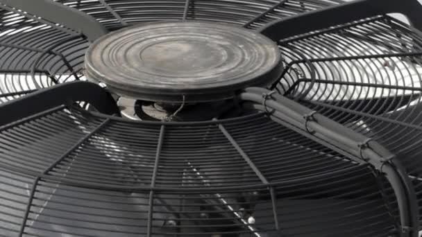 Elszívó ventilátort. Közelről.