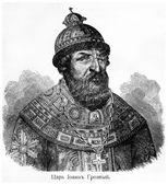 Car Ruska John Iv Vasiljevič, Ivan hrozné. Starověké gravírování