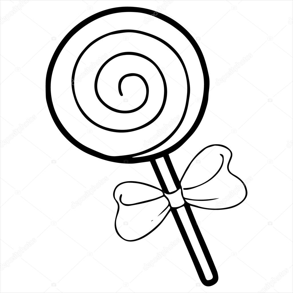 depositphotos_84843096 stock illustration lollipop isolated illustration on white