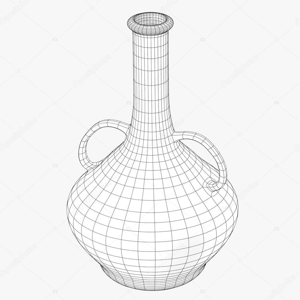 Orientalische Glas schwarz-weiß Drahtgeflecht-Bild — Stockfoto ...