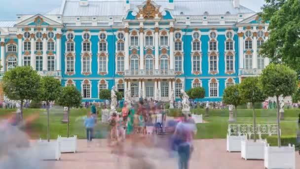 Timelapse palác Kateřiny je rokokový palác se nachází ve městě Carskoje Selo Puškin