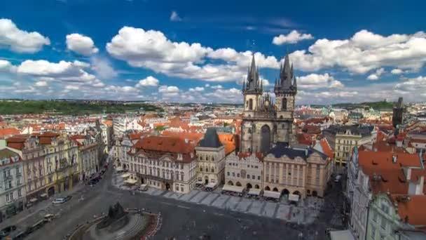 Staroměstské náměstí je v Praze, v České republice. Je to nejdobře znám městský čtverec Staromestka nameste .