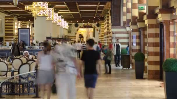 The Gold Souq in Mall timelapse