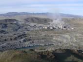 Průmyslový komplex na azbestové extrakce