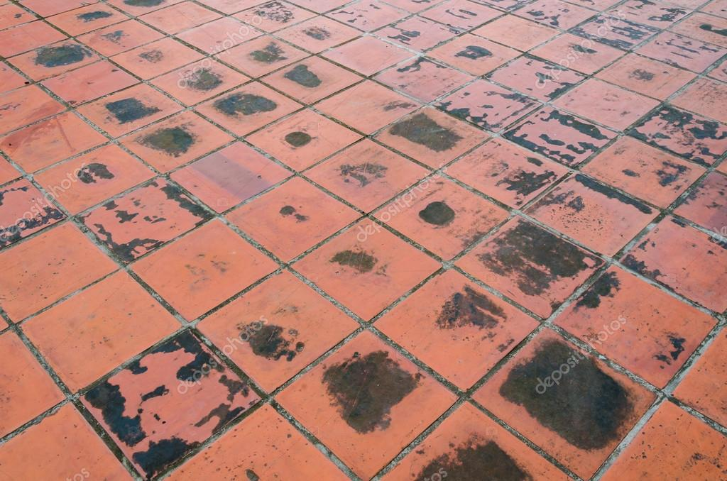 Patroon van rode vloer tegel u stockfoto bpbomb