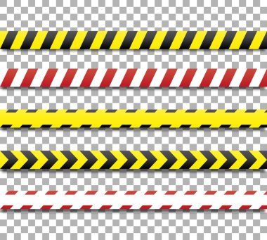 Police lines and danger tape